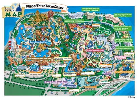 disney resort map new tokyo disney resort maps dbm your independent disney news source