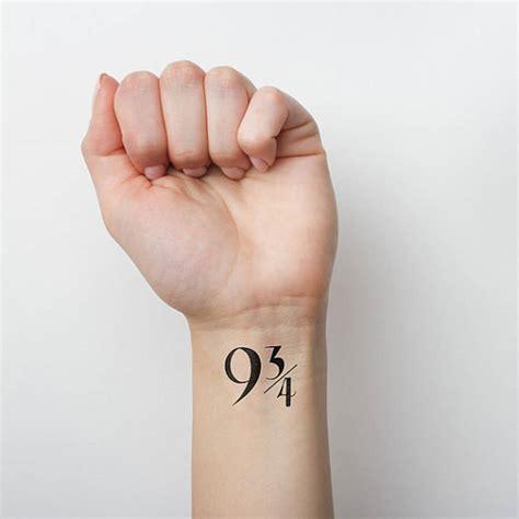 des tatouages temporaires pour les fans de harry potter