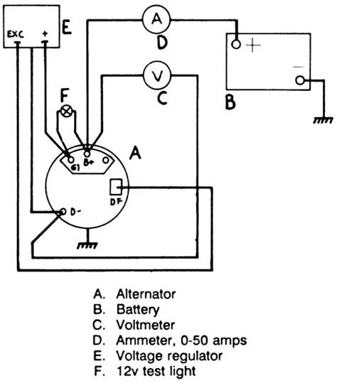 volvo motorola alternator external regulator wiring