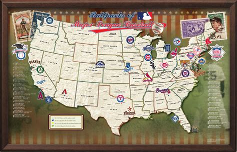 mlb map major league baseball stadiums search engine at search