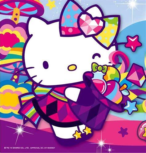 wallpaper hello kitty rainbow rainbow hello kitty hello kitty sanrio for all ages
