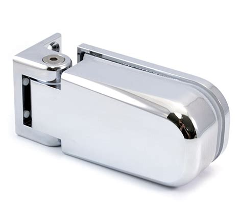 Shower Door Hinges Uk Bilobina 815e10 Glass To Wall Shower Door Hinge The Wholesale Glass Company