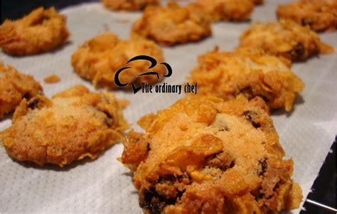 Oven Pembakar Biskut the ordinary chef biskut cornflakes