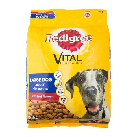 Pedigree 1 5 Kg Beef And Vegetables Flavor pedigree with beef flavour large food 6kg