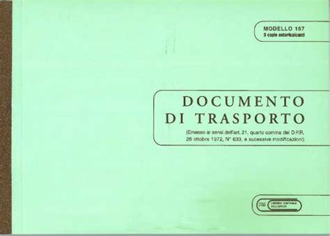 libreria giuridica bergamo documento di trasporto 3 copie in catalogo documenti di