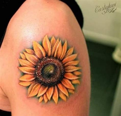 sunflower tattoo on shoulder tumblr 1000 ideas about sunflower tattoo shoulder on pinterest