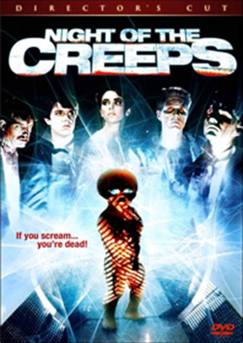 Better Than A Thousand 1st Press vote settle for 1 of 3 of the creeps dvd covers