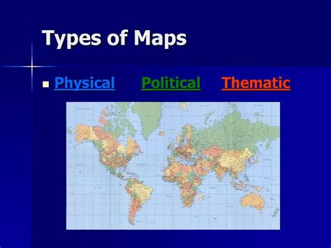 kinds of maps notes on maps types and uses of map and scale