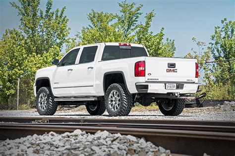 gmc truck lift kits rou 176 country 14 16 gmc 7in suspension lift kit w