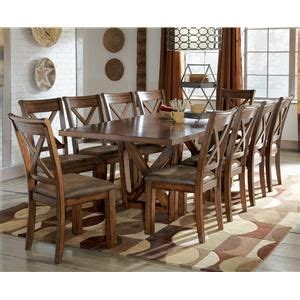waurika 11 extension table set by signature design