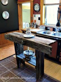 Homemade Kitchen Island Ideas 32 Simple Rustic Homemade Kitchen Islands