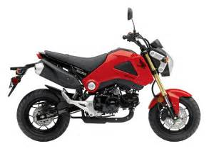 Honda Monkey Bike 2014 Honda Msx125 Monkey Bike Coming To Us As Honda Grom
