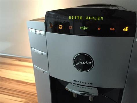 Jura Kaffeemaschine Entkalken Ohne Aufforderung by Jura Impressa F90 Kaffeemaschine Kaffeevollautomat