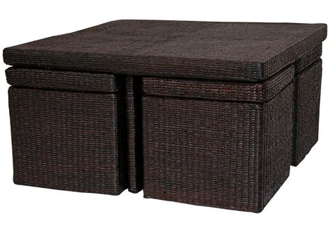 rattan wicker coffee table coffee table design ideas