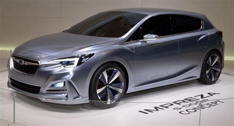 subaru concept 2017 moment of truth 2017 subaru impreza production vs concept