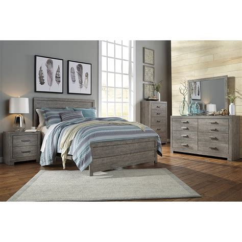 signature design  ashley culverbach queen bedroom group  city furniture bedroom groups