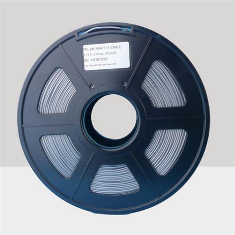 Filament Pla 3d Printer 175 Mm Silver pla filament 1 75mm pla filament silver 1 75mm 3d printing filament 3d printer filament 1 75