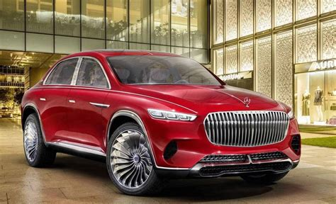 maybach mercedes jeep vision mercedes maybach ultimate luxury previews new suv