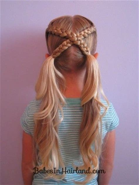 cool hairstyles girl easy cool easy hairstyles for kids