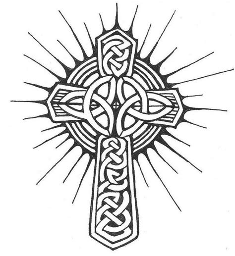 trinity cross tattoo celtic cross by thatlederhosen on deviantart
