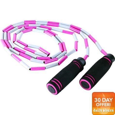 beaded jump ropes for tone fitness adjustable beaded jump rope walmart