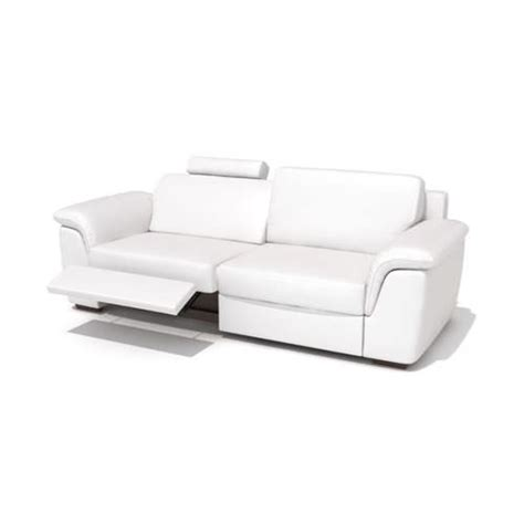 Modern Reclining Sofas by Modern Reclining Leather Sofa 3d Model Cgtrader