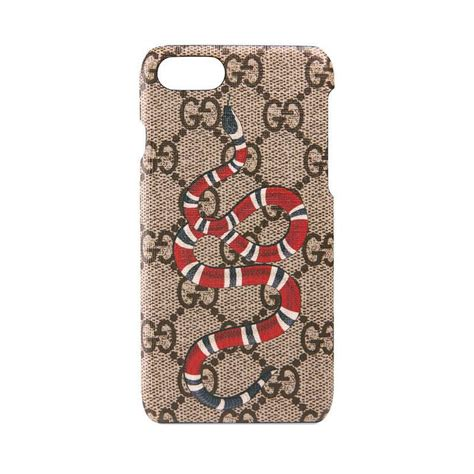 lyst gucci snake print iphone  case