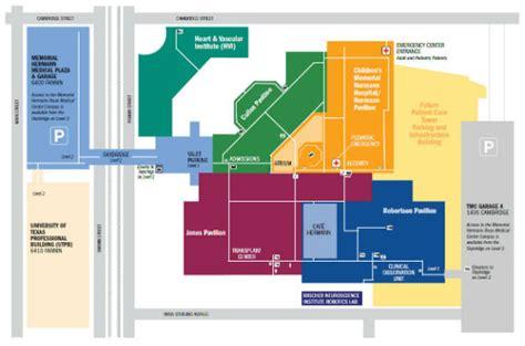 Tmc Parking Garage Map by Memorial Hermann