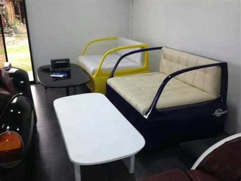 vw beetle couch 1000 images about automotive furniture on pinterest car