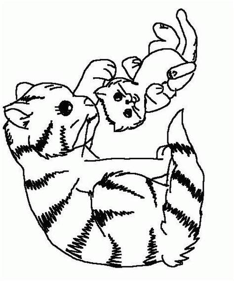 coloriage de chaton a imprimer az coloriage imprime le dessin colorier de chaton