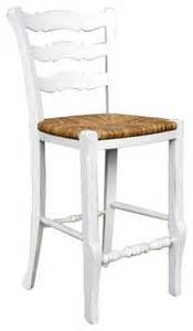 French country ladder back counter stool white farmhouse bar stools and counter stools by
