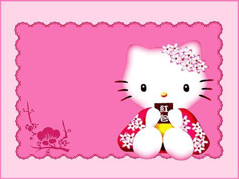 templates for hello kitty invitations hello kitty free printable invitation templates