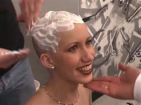 old lady headshave head shave bald women headshave 54 best in a lather images on pinterest bald women and