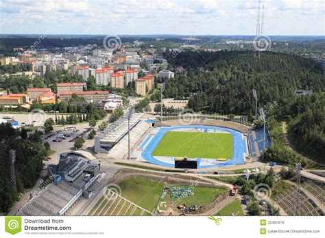 design hill finland lahti royalty free stock images image 32491979