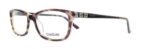 bebe eyeglasses bb5084 226 jet tortoise 52mm ebay