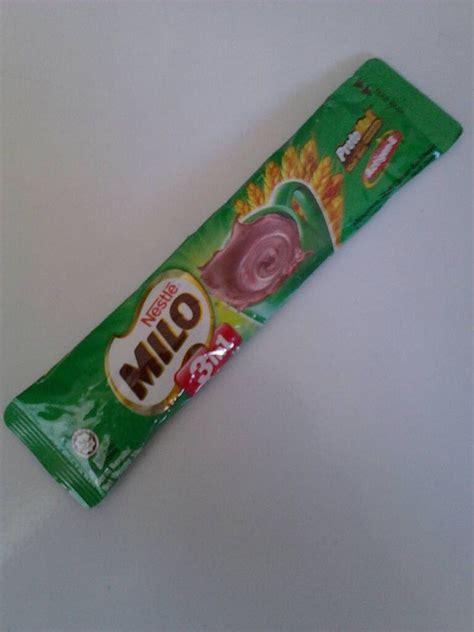 Milo Malaysia Milo 3 In 1 Sachet malaysian snack review milo 3 in 1