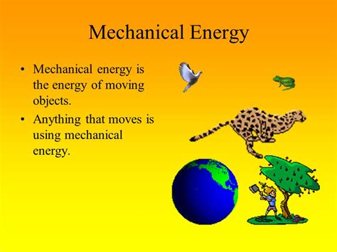 Non Examples Of Mechanical Energy