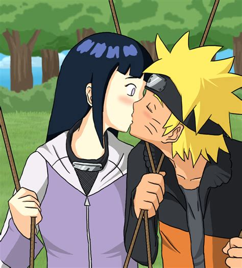 film naruto kiss hinata swing kiss by meje2 on deviantart