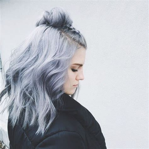 gray colored hair 25 best ideas about light blue hair on pastel