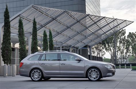 skoda superb combi now in production autoevolution