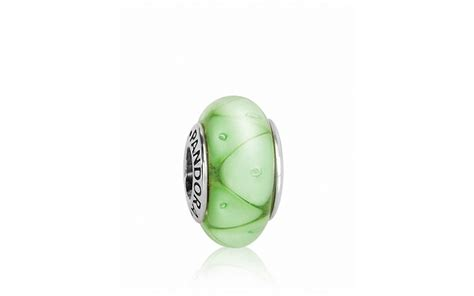 pandora charm murano glass sterling silver green looking glass bloomingdale s
