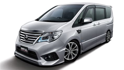 nissan impul nissan serena s hybrid tuned by impul launched in malaysia
