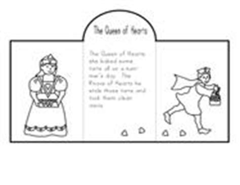 queen of hearts nursery rhyme coloring page fun learning printables for kids