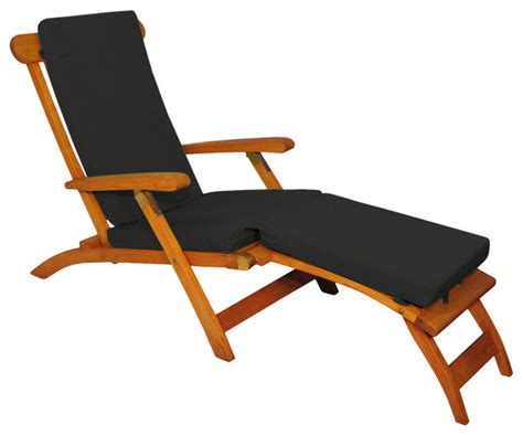 sunbrella chaise lounge chairs shop houzz goldenteak teak steamer chair chaise lounge