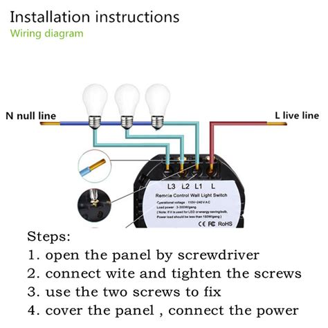 touch l switch light switch wiring diagram also touch l switch