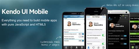 kendo ui mobile sle application the state of hybrid mobile development telerik developer