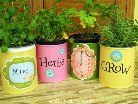 Metal Canisters Kitchen 7 easy diy garden gift ideas the micro gardener