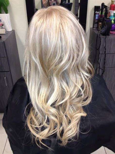 blonde hair with silver highlights beige blonde with sun kissed highlights beauty