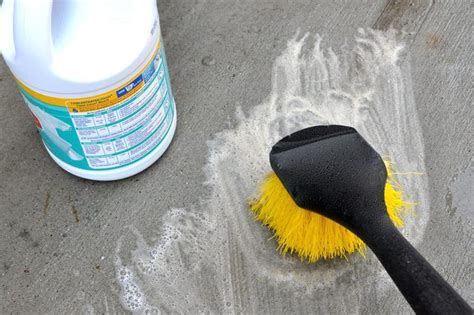 ideas  cleaning concrete patios  pinterest