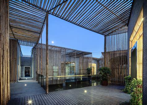 Garden Room Archdaily Bamboo Courtyard Teahouse Harmony World Consulting